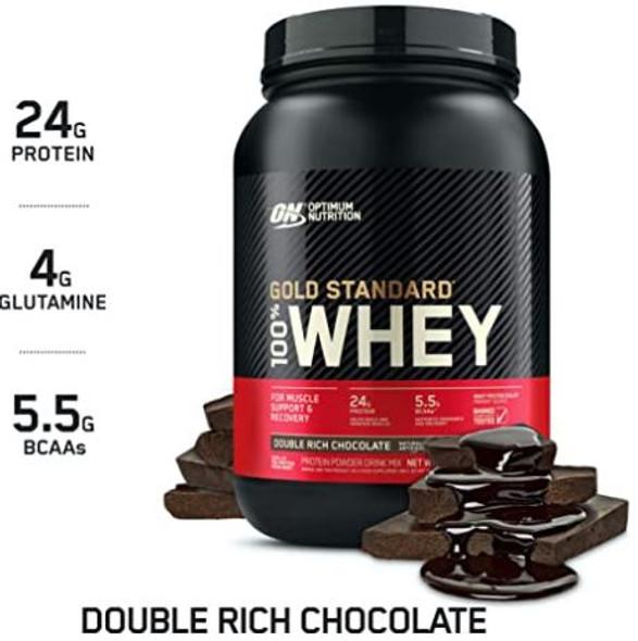 Whey Protein Powder Gold Standard Optimum Nutrition 2lb 907g 29-SERVINGS