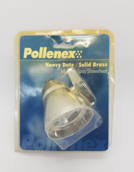 SHOWER ROSE POLLENEX HEAVY DUTY SOLID BRASS