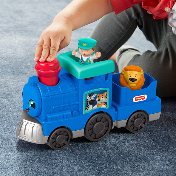 Toy Fisher-Price Little People Musical Animal Train