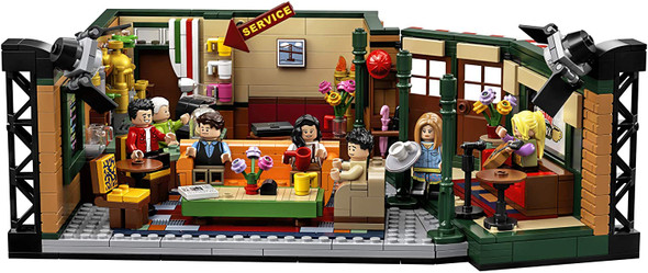 Toy LEGO FRIENDS 21319 Central Perk Building Kit 1,070 Pieces