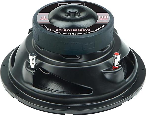 """SPEAKER CAR DTI 12"""" DW1250SDVC 800W"""