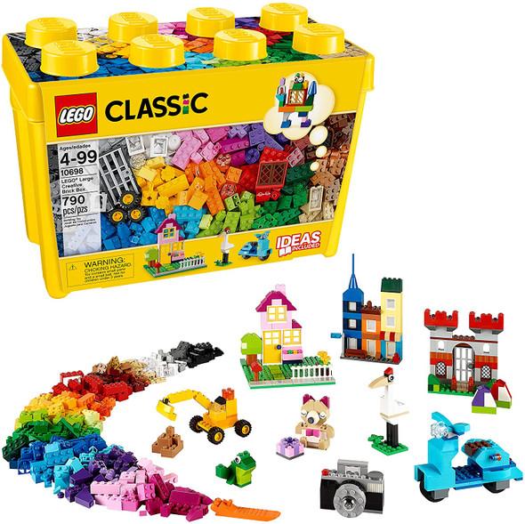 Toy LEGO Classic Large Creative Brick Box 10698 Building Kit 790 Pieces