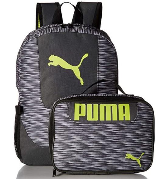 Bag PUMA Kids' Evercat Backpack & Lunch Kit Combo