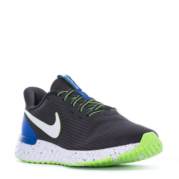 Footwear Men Nike Sneaker Revolution smoke, green sole
