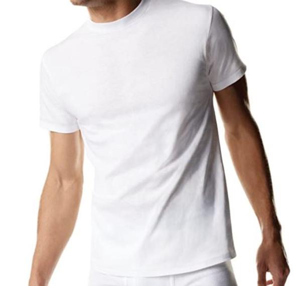 Men T-Shirt Hanes white Tagless 3pack
