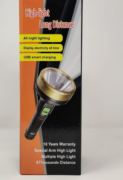 TORCH LIGHT LED YT-81019 RECHARGEABLE HIGH-LIGHT LONG DISTANCE