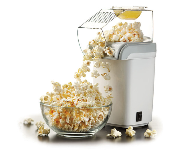 POPCORN MAKER BRENTWOOD PC-486W 8CUPS HOT AIR
