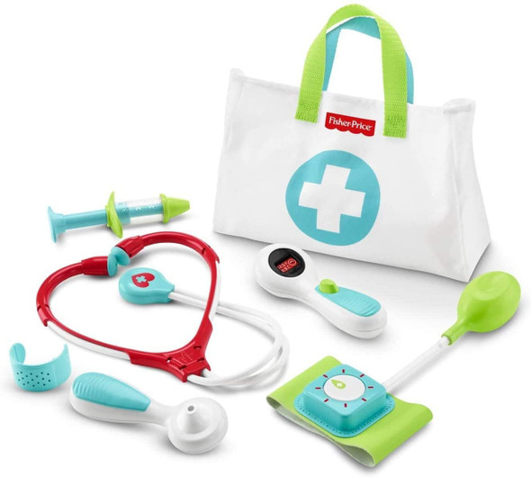 Toy Fisher-Price Medical Kit Pretend Doctor Playset