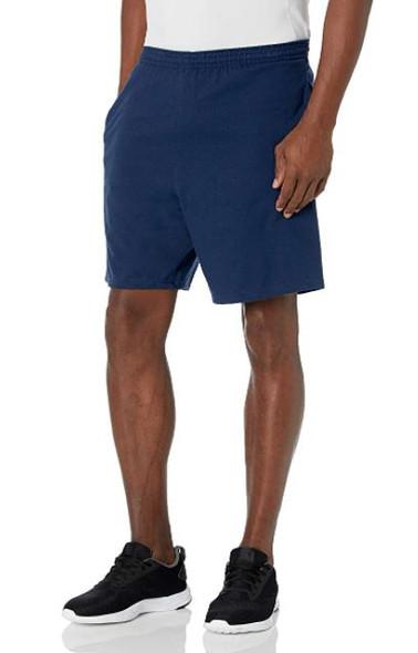 Men Shorts Hanes Navy with pockets