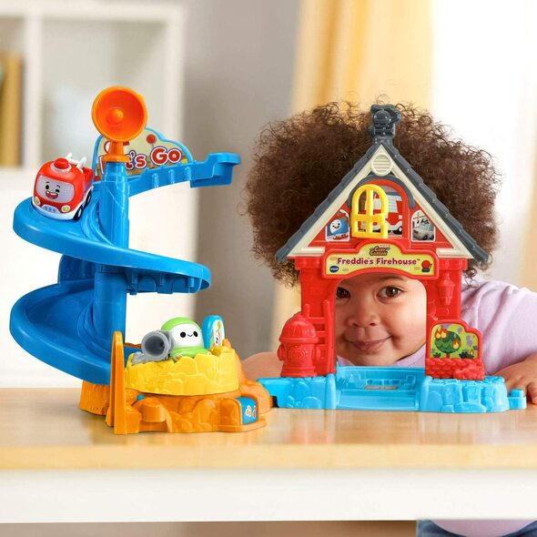 Toy VTech Go! Go! Cory Carson Freddie's Firehouse