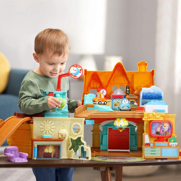 Toy VTech Go! Go! Cory Carson - Cory's Stay and Play Home