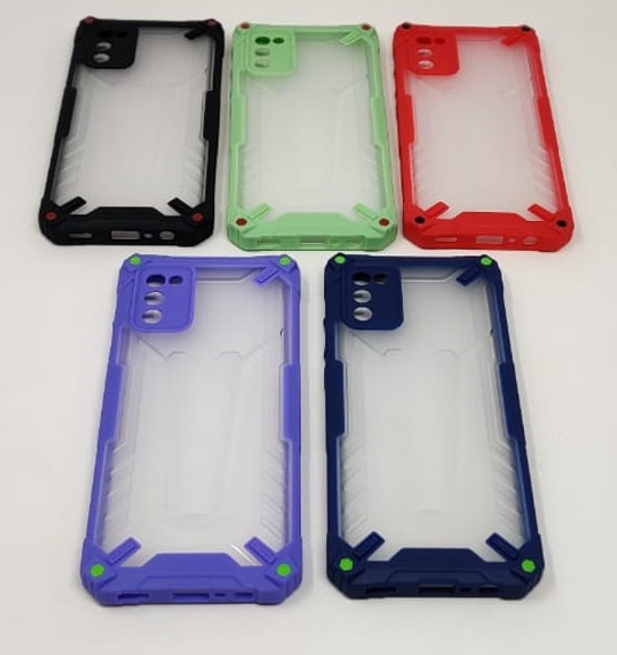 PHONE CASE FOR SAMSUNG A02S  NEW CASE 2IN1 FROSTED BACK