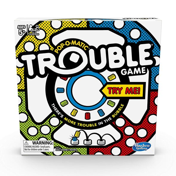 Toy Game Board Hashbro Trouble