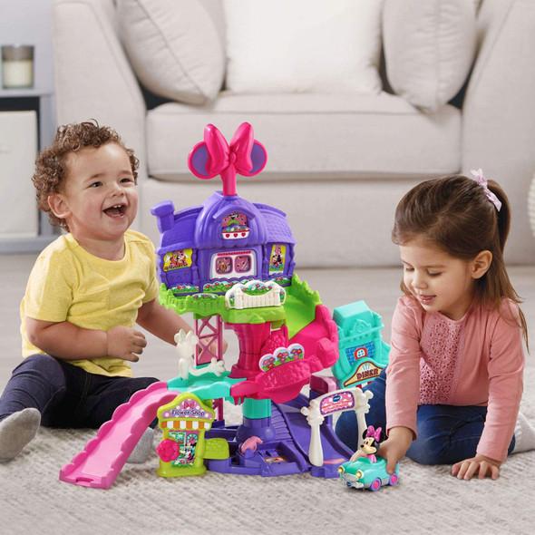 Toy VTech Go! Go! Smart Wheels - Disney Minnie Mouse Around Town Playset