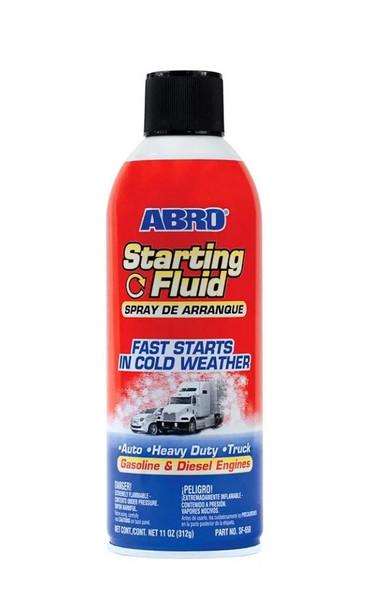 STARTING FLUID ABRO 11OZ #SF-650