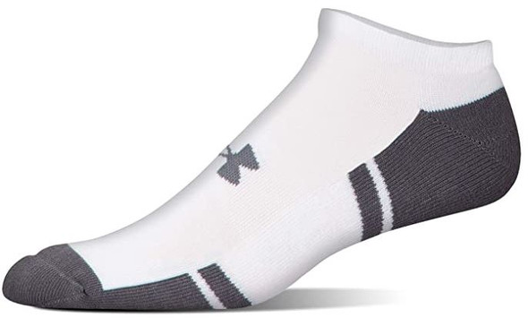 Men Socks Under Armour  Resistor 3.0 No Show 6-Pairs
