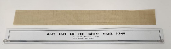 "SEALER IMPULSE SPARE PART KIT 12"" 300MM 1 TEFLON FABRIC STRIP  & 1 HEATING ELEMENT"