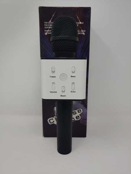 MICROPHONE CORDLESS WITH USB & SPEAKER CHINESE V