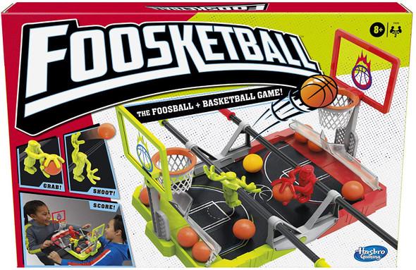 Game  Foosketball Hashbro Foosball Plus Basketball Shoot and Score