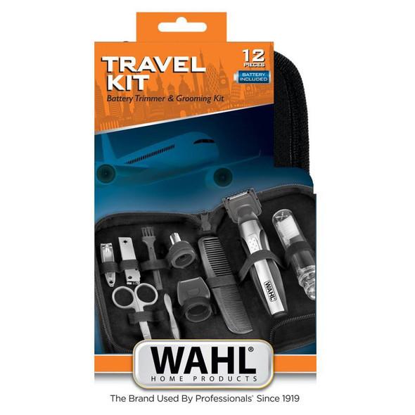 HAIR CUTTING KIT WAHL 12PC 05604-208 TRAVEL