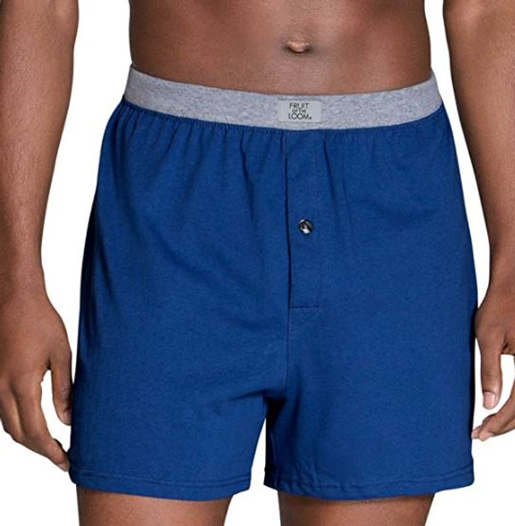 Men Boxers Fruit of the Loom Knit Tagless 6pack