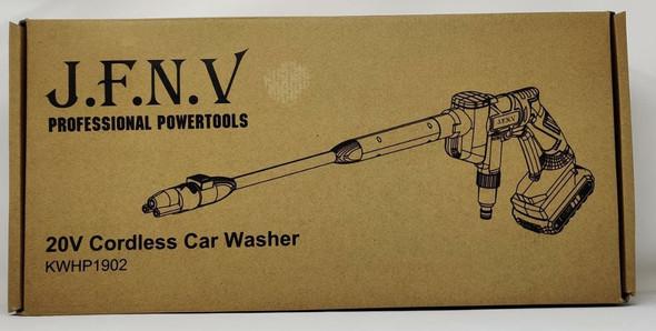 PRESSURE WASHER J.F.N.V KWHP1902 20V CORDLESS CAR WASHER