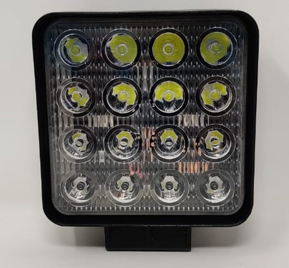 LAMP LED CAR J.F.N.V 48W S F 48MM 9V-36V DC SUPER-POWER IRRADIATION