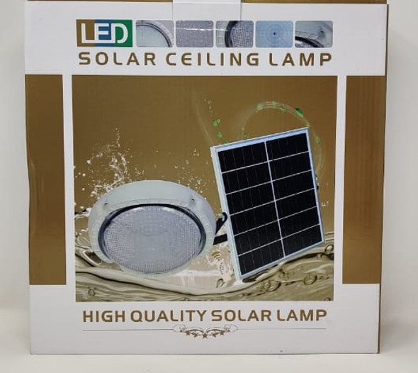 SOLAR LAMP LED CEILING 18W WITH 1-PANEL AND 1-CEILING FIXTURE