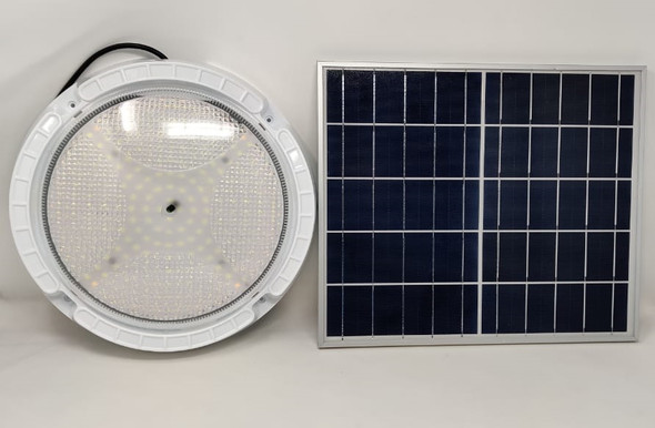 SOLAR LAMP LED CEILING 24W WITH 1-PANEL AND 1-CEILING FIXTURE