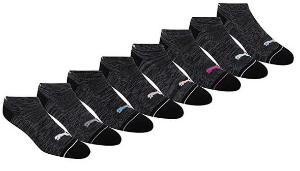 Women Socks Puma Low Cut Cushioned 8 Pairs