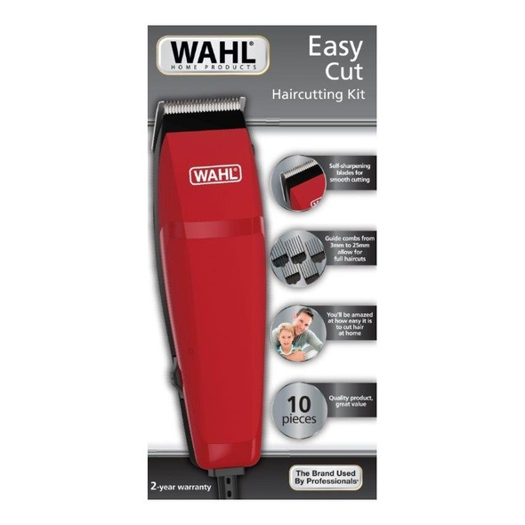 HAIR CUTTING KIT WAHL 10PCS 09314-2708