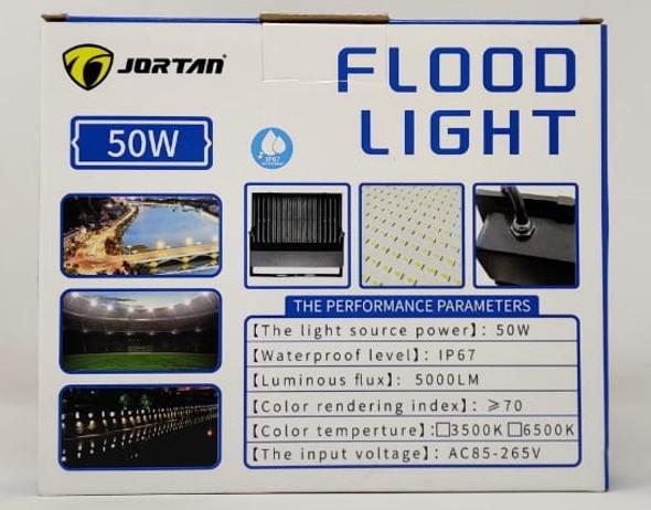 LAMP LED FLOOD 50W JORTAN MNTGD-TP50W IP67 85-265V 50/60HZ 6500K