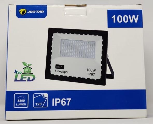 LAMP LED FLOOD 100W JORTAN MNTGD-TP100W IP67 85-265V 50/60HZ 6500K