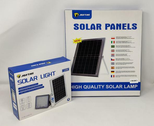 LAMP LED SOLAR FLOOD 120W JORTAN JT-BS-120W-TF + JT-BS120W-TY 6500K IP66