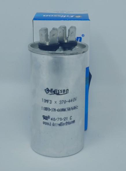 AIR CONDITIONER CAPACITOR 370V 10UF 10MFD