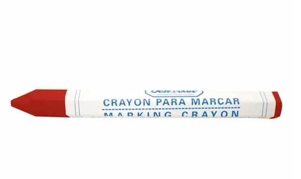 CRAYON MARKING RED BEST VALUE H16292