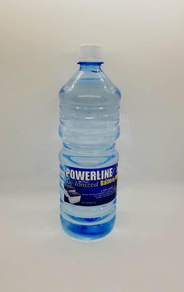 BATTERY WATER 1000ML/1 LTR POWERLINE DE-IONIZED