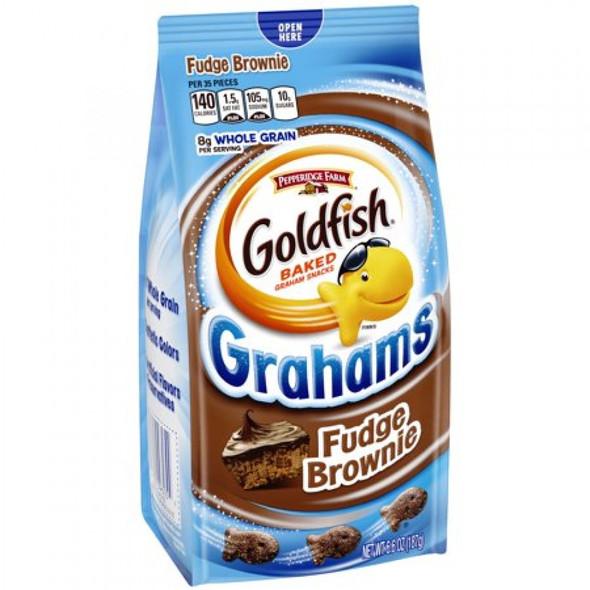 PEPPERIDGE FARM GOLDFISH GRAHAMS BROWNIE 6.6oz 187g