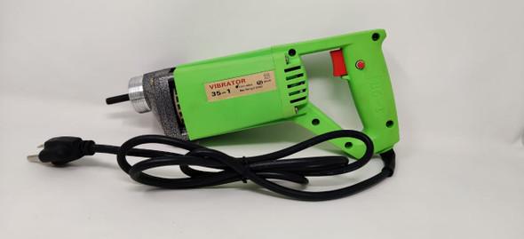 CONCRETE VIBRATOR 35-1 GREEN + POKER 2MX40CM ELECTRIC