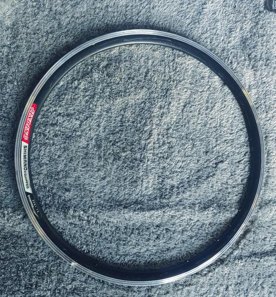 """BICYCLE RIM 26"""" X 1.75 JINDING SHIMANO EQUIPPED 26X175"""