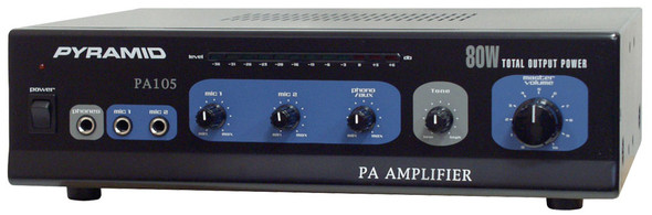 AMPLIFIER PA PYRAMID PA105 80W