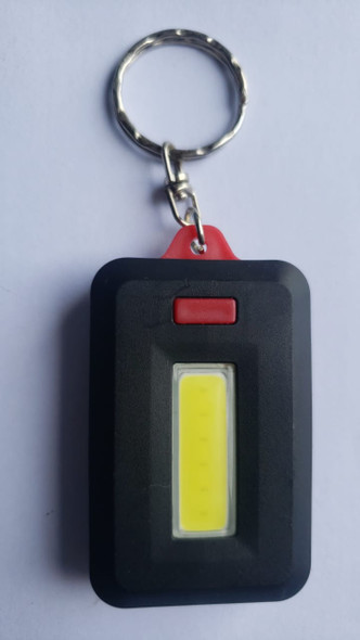 LED LIGHT WITH KEY CHAIN BLACK WITH COLOR