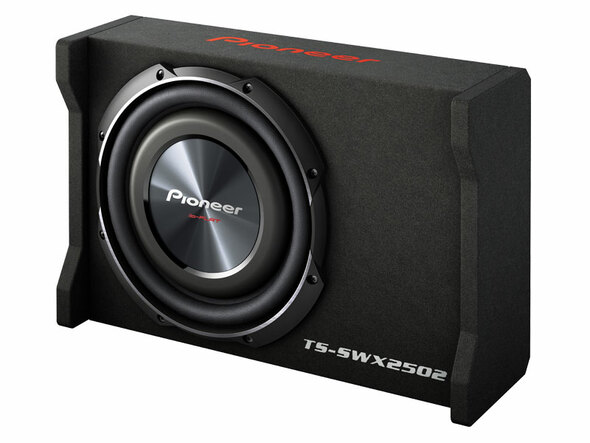 "SPEAKER BOX CAR PIONEER 10"" TSSWX2502 SHALLOW"