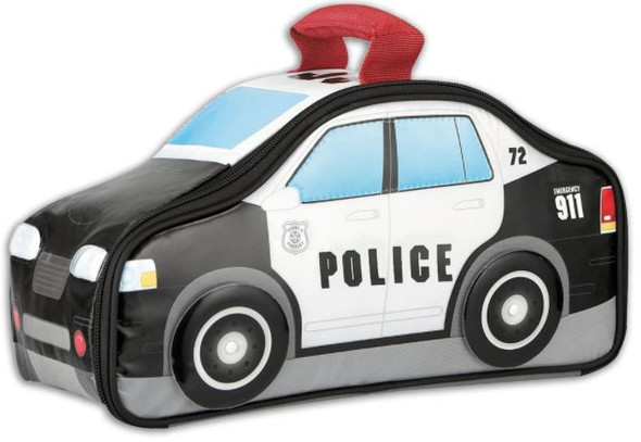 Lunch Bag Thermos Police Car Insulated