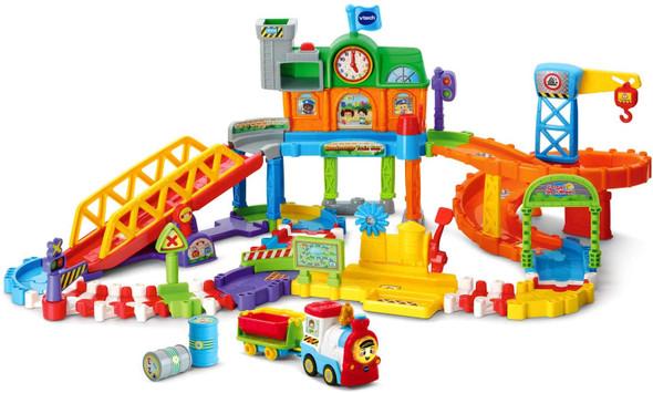 Toy Train Set VTech Go! Go! Smart Wheels Roadmaster