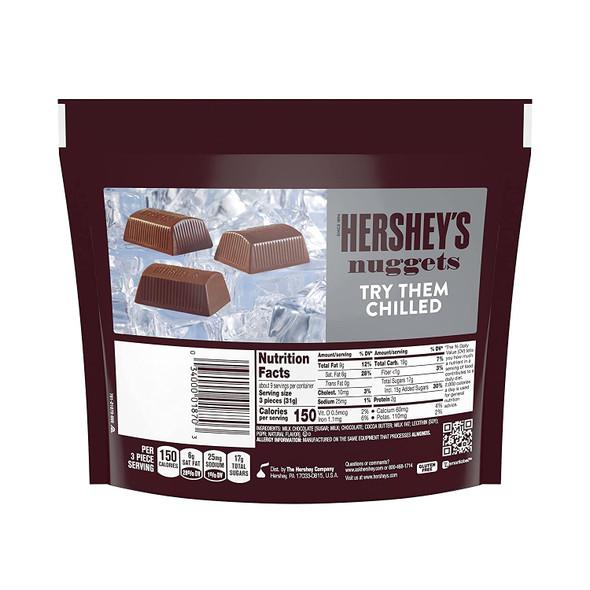 HERSHEY'S NUGGETS MILK CHOCOLATE 10.2oz 289g