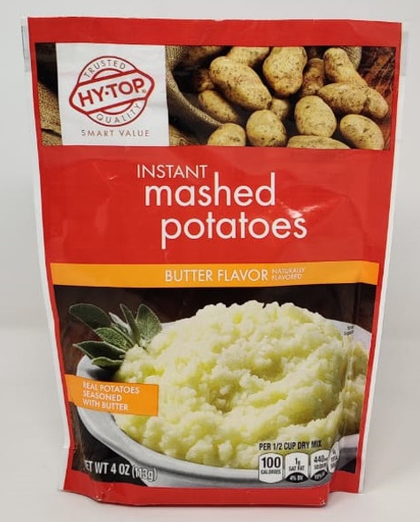 HY-TOP INSTANT MASHED POTATOES BUTTER FLAVOR 4oz 113g