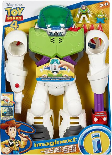 Toy Robot Fisher Price Imaginex Disney Buzz Lightyear
