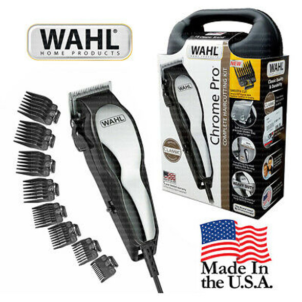 HAIR CUTTING KIT WAHL 79730 CHROME PRO