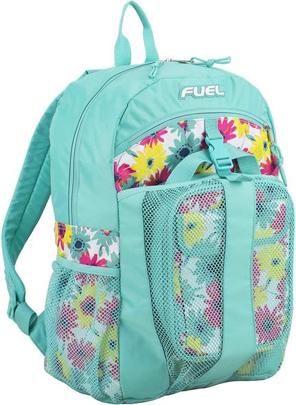 Backpack Lunchbag Set Fuel Turquoise Floral